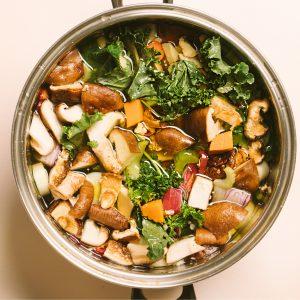 Five-Step Gut Healing Vegetable Broth